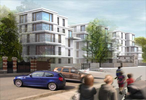 kalkof architekten projekte wettbewerbe bebauungskonzept wohnen am park leipzig. Black Bedroom Furniture Sets. Home Design Ideas